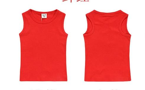 เสื้อกล้ามสีแดง CI-SI