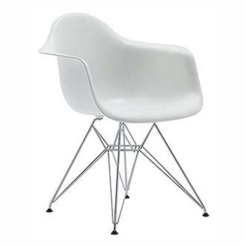 เก้าอี้ดีไซน์โมเดิร์น สีขาว สำหรับร้านกาแฟ ร้านอาหาร (PPA-ML)