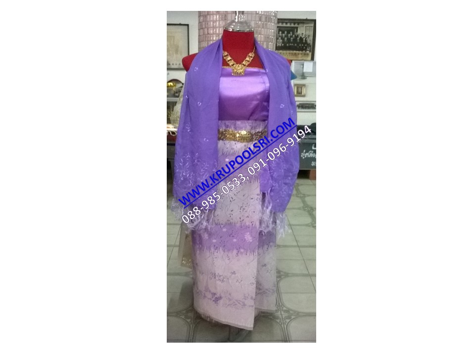 ชุดพม่า หญิง 17