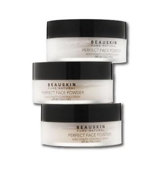 แป้งฝุ่น มิสเซกิยอน Beauskin Pure Natural Perfect Face Powder SPF 25 550 บาท