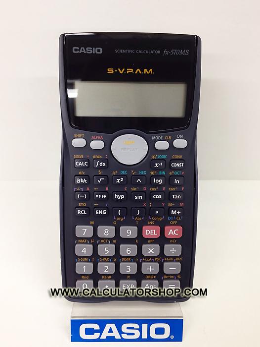 เครื่องคิดเลข คาสิโอ casio รุ่น FX-570MS