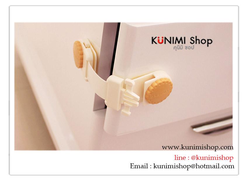 GK358 ที่ล็อคตู้สิ่งของ ป้องกันเด็กทารก เด็กเล็กเปิดตู้เอง เพื่อป้องกันอุบัติเหตุที่ไม่คาดฝัน ขนาด ยาว 12 * กว้าง 5 ซม. สำเนา