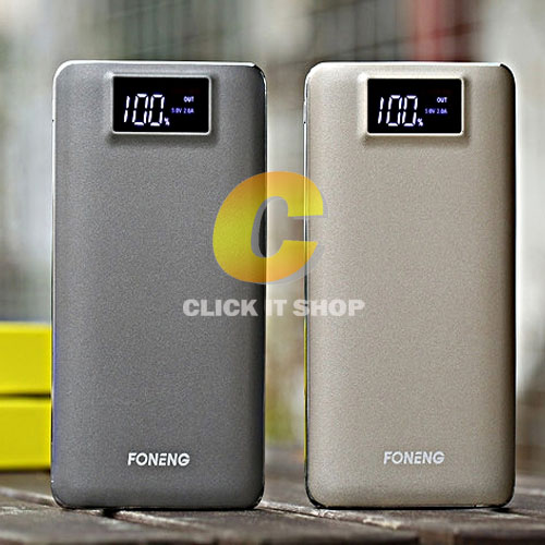 POWER BANK Foneng vision plus 20000mAh ประกัน1ปี