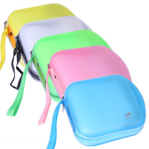 กระเป๋าCD (40แผ่น) พลาสติก คละสี