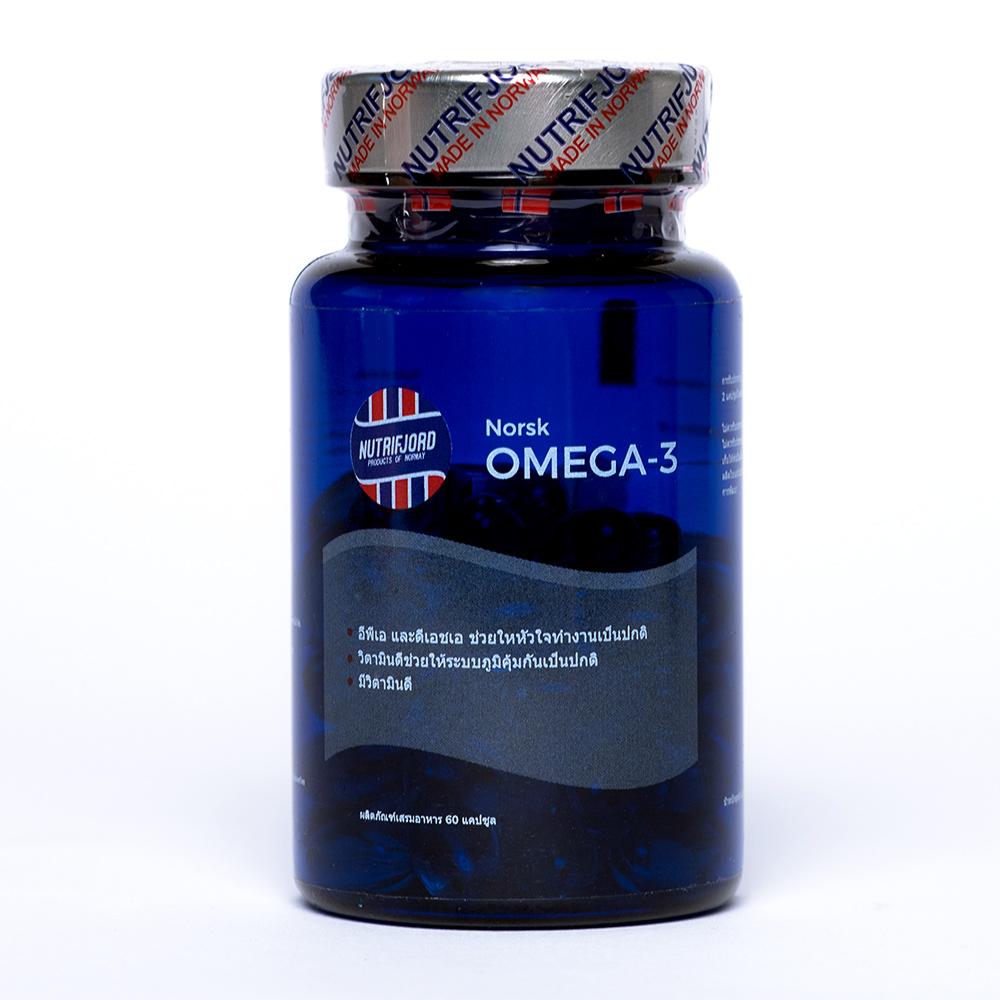 Nutrifjord Norwegian Omega-3 (60 capsules)