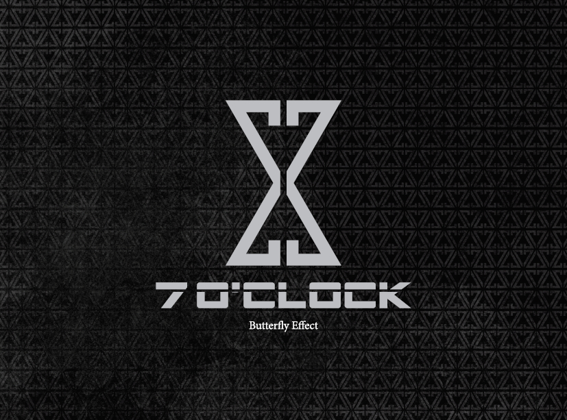 [Pre] 7'OClock : 1st Mini Album - Butterfly Effect +Poster