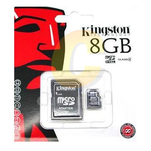 Micro SD 8GB Kingston (SDC4, Class 4)