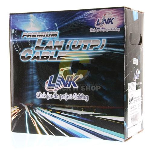 CAT5e UTP Cable (100m/BOX) 'LINK' Original