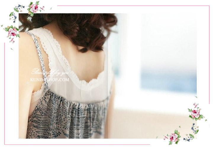 เสื้อกล้ามซับใน ขอบผ้าลูกไม้ เพิ่มความหวาน เสื้อกล้ามซับในผ้ายืด ลายลูกไม้ เพิ่มความหวาน น่ารัก จะใส่เดี่ยวๆ หรือใส่คู่กับเสื้ออีกตัวก็ดูดีครับ ขนาด FREE SIZE มี 3 สี ขาว เทา ดำ