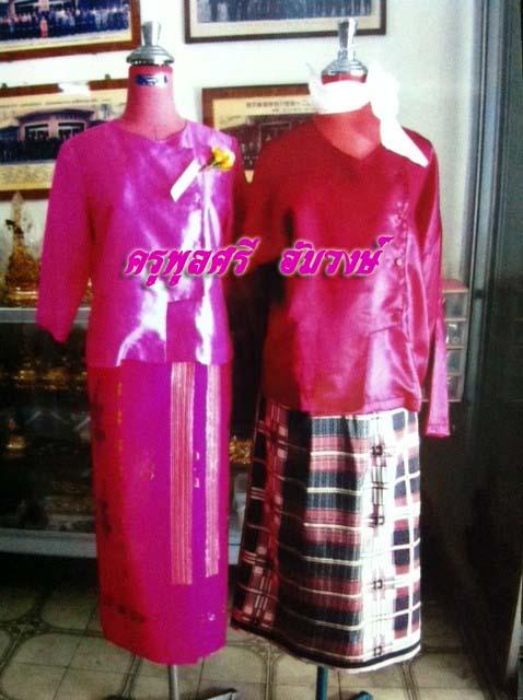 ชุดพม่า ชาย-หญิง 02