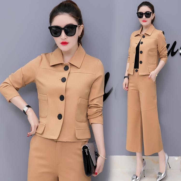 ชุดเชทเสื้อผ้าแฟชั่นเกาหลี 2 in 1 เสื้อคู่กางเกง