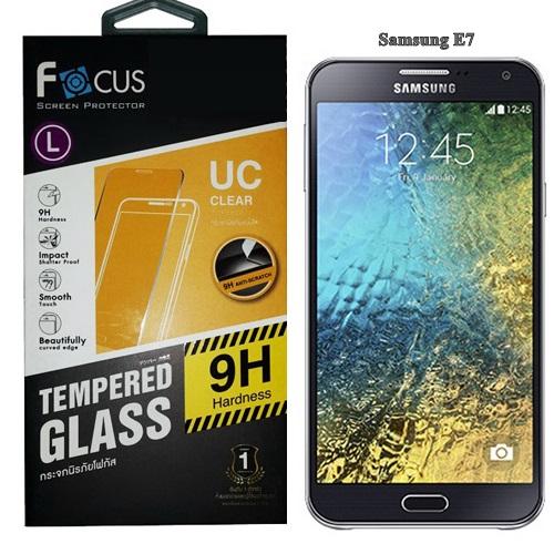 Focus โฟกัส ฟิล์มกระจกซัมซุง Samsung E7 E700 ซัมซุงอีเจ็ด