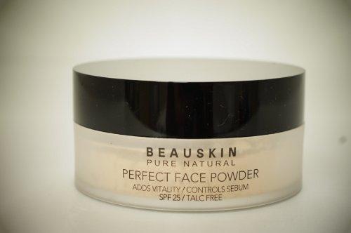 แป้งฝุ่น มิสเซกิยอน Beauskin Pure Natural Perfect Face Powder SPF 25