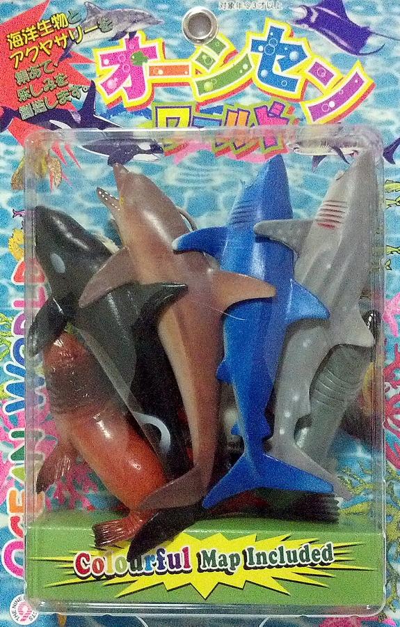 ชุดสัตว์น้ำ 9 ตัวแพ็คญี่ปุ่น (B9714)