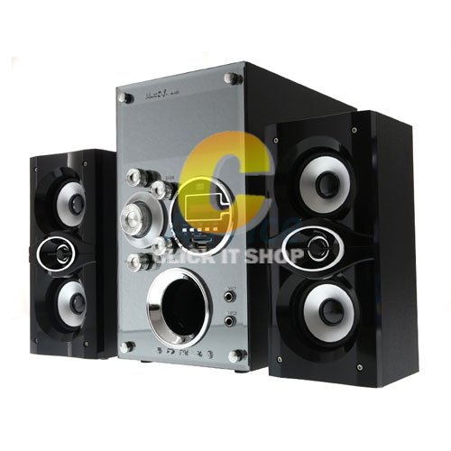 ลำโพง 'Music D.J. BLUETOOTH (M-M3) +FM,USB