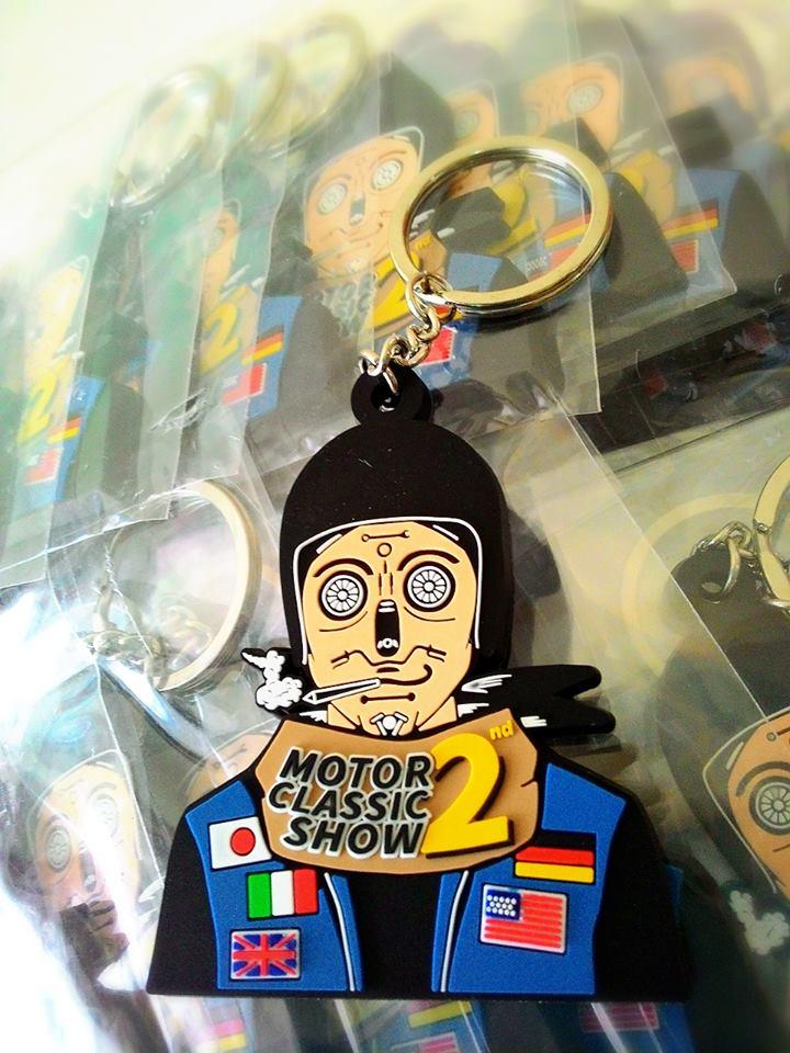 พวงกุญแจ สายลับไบค์เกอร์ งาน Motor classic show 2nd