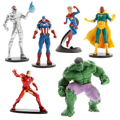 z The Avengers Figure Play Set