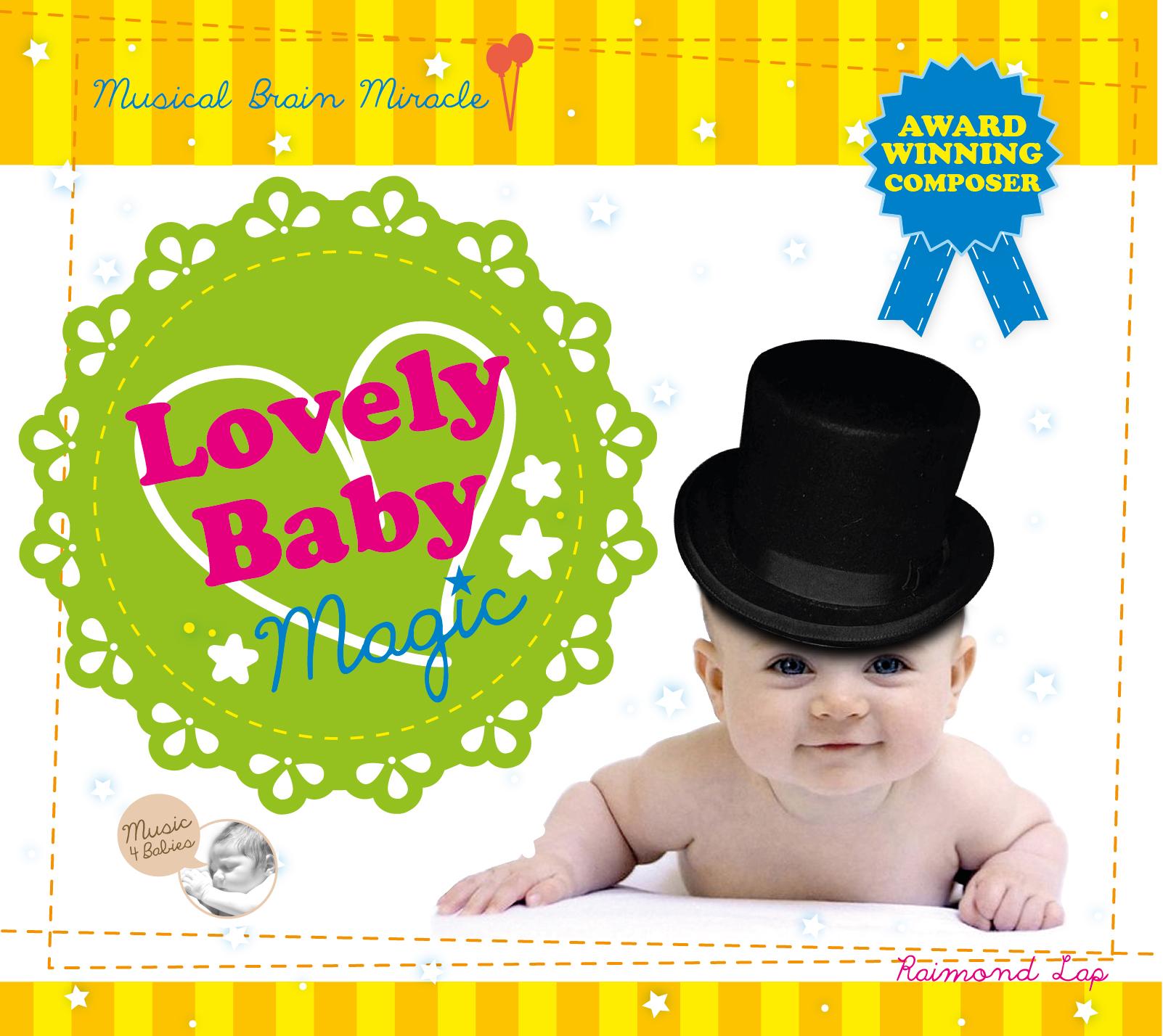 CD Set เพลงคลาสสิค ซีดีเพลงเด็ก Lovely Baby Magic เวทมนต์แห่งเสียงดนตรี ช่วยส่งเสริมพัฒนาการทักษะด้านภาษาและพฤติกรรมทางสังคม