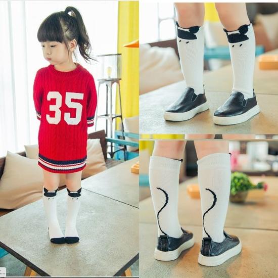ถุงเท้าเด็กแบบยาว ไซส์ 4-6 ปี