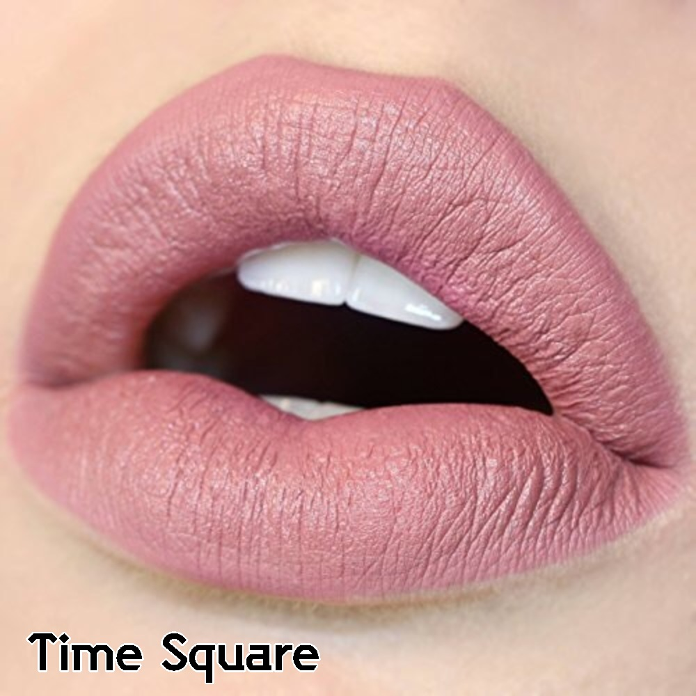 **พร้อมส่ง + ลด 30 %**COLOUR POP ULTRA SATIN LIQUID LIPSTICK สี Time Square