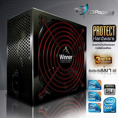 PAWER SUPPLY WINNER 550W FULL80+PLUS SERVER