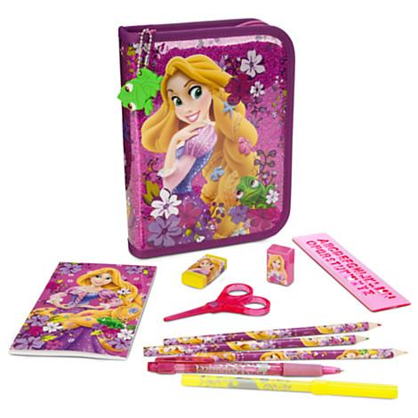 z Rapunzel Zip-Up Stationery Kit