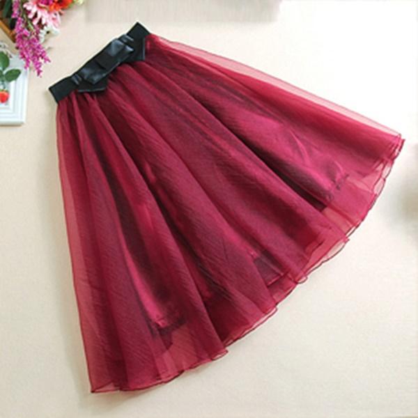 พรีออเดอร์ กระโปรง tutu ผู้ใหญ่ กระโปรงบาน กระโปรง Princess tutu skirt ผ้าชีฟองชั้นเดียว กระโปรงออกงาน
