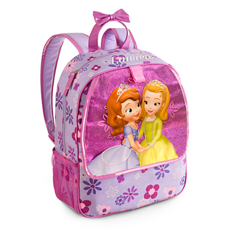 z Disney Sofia the First Backpack สูง15""