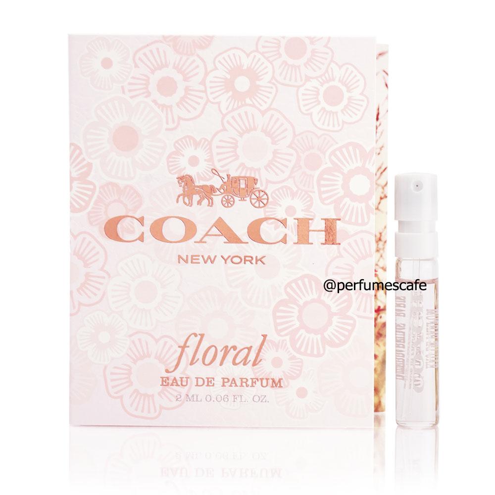 น้ำหอม Coach Floral Eau de Parfum ขนาด 2ml แบบสเปรย์