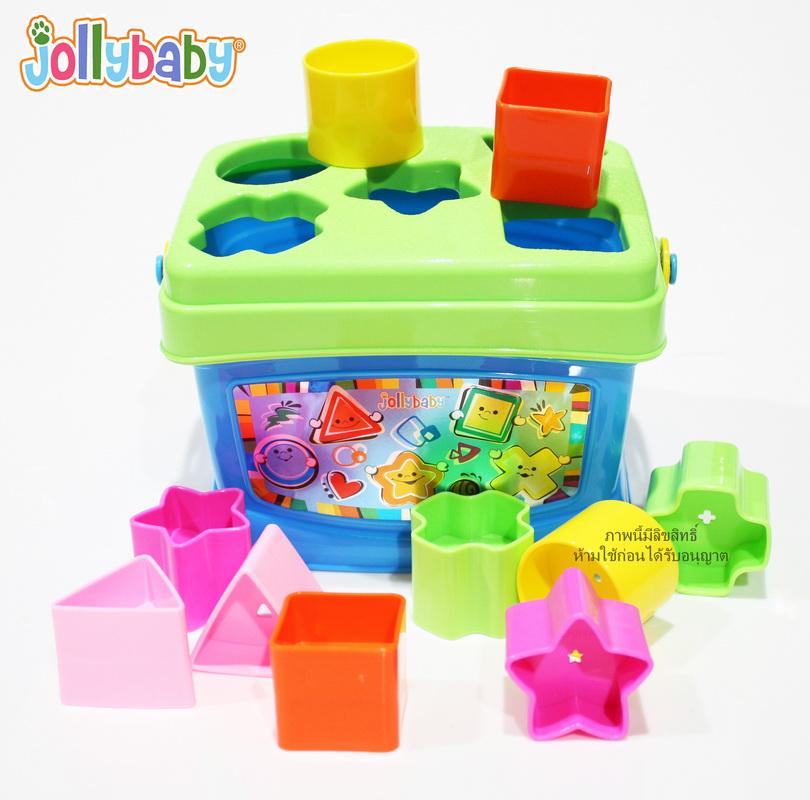 บล็อคหยอด Jollybaby Lovely Baby's First Blocks