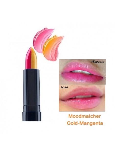 (พร้อมส่ง) Fran Wilson Lip Mood match สี Gold / Magenta