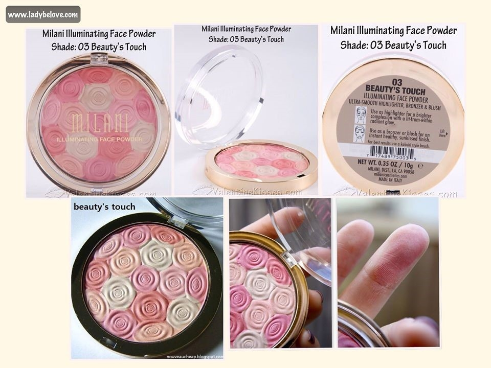 Milani Illuminating Face Powder เบอร์ 3 BEAUTY TOUCH