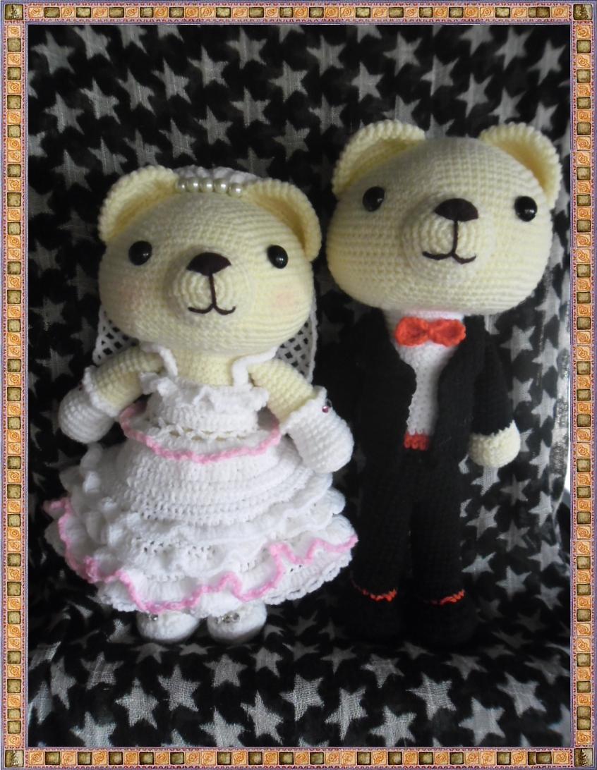ตุ๊กตาคู่แต่งงาน 10 นิ้ว