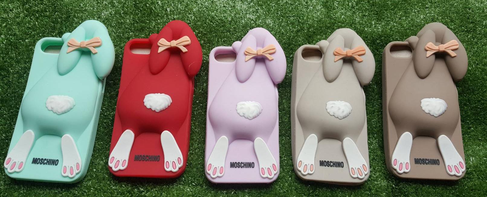 (พร้อมส่ง) เคส IPhone 5 / 5S ซิลิโคน รูปกระต่าย น่ารัก