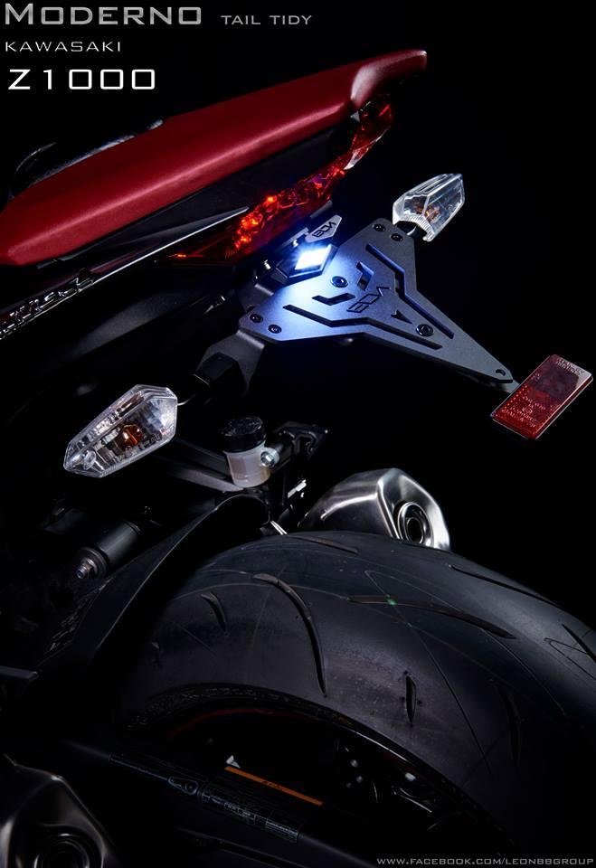 ท้ายสั้น Leon for Kawasaki Z1000 MODERNO