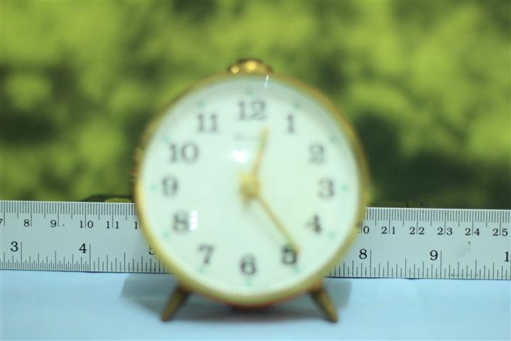 T0607 นาฬิกาปลุกเยอรมันโบราณ ส่ง Blessing ฟรี