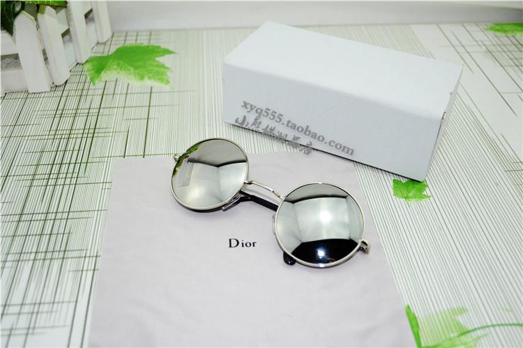 Pre Order New Prince แว่นกันแดดแฟชั่น เลนส์สะท้อนแสง ทรงกลม ใส่ได้ทั้งชาย-หญิง