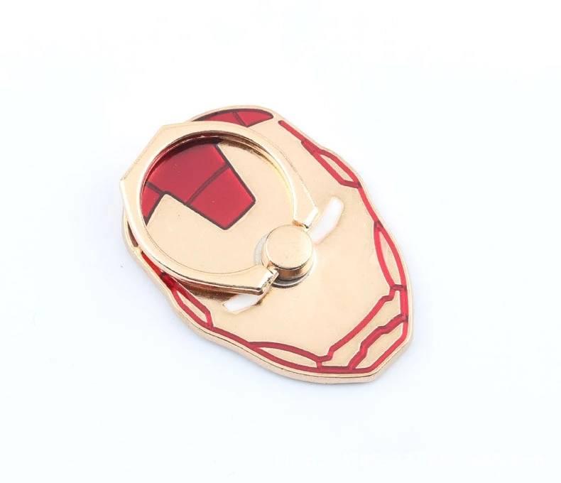 แหวนตั้งมือถือลาย Iron Man สีแดง สำหรับมือถือทุกรุ่น