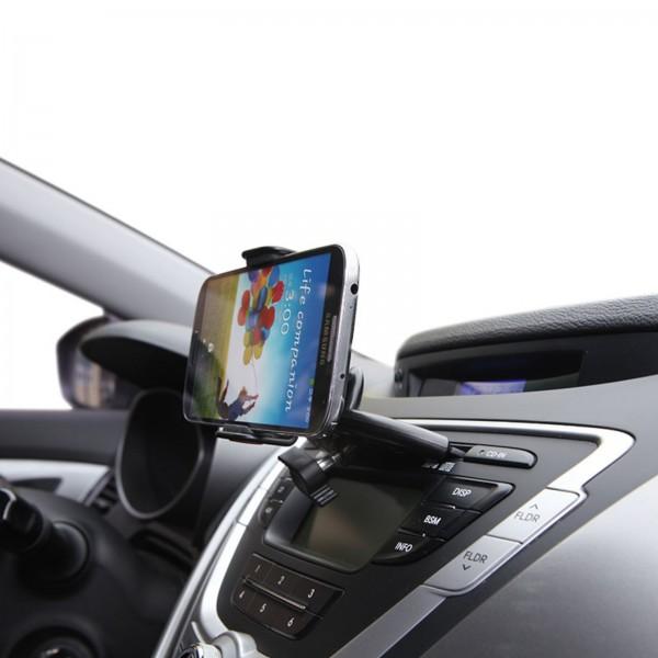 อุปกรณ์จับยึดมือถือในรถยนต์ ติดตั้งกับช่องซีดี