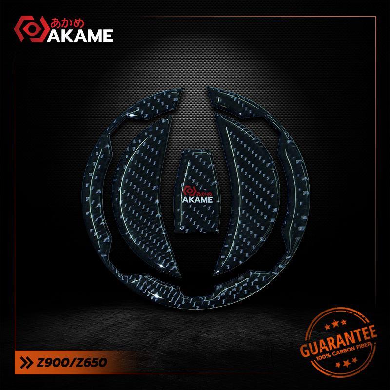 สติกเกอร์กันฝาถัง นินจา650/Z650 Pure carbon 100%