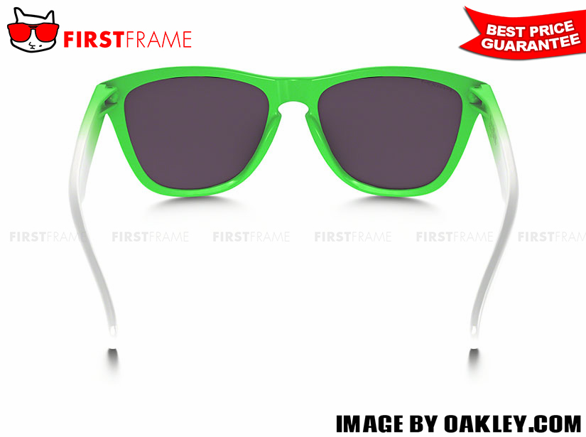 OAKLEY OO9245-37 FROGSKINS GREEN FADE EDITION (ASIA FIT) 4