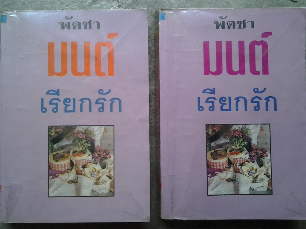 มนต์เรียกรัก 1-2 เล่มจบ โดย พัดชา