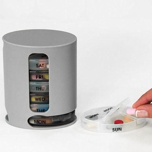 กล่องใส่ยา pill pro สีเทา