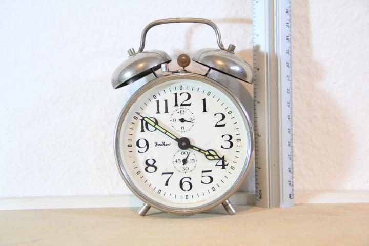 รหัส N0208 นาฬิกาปลุก Harhart เดินดีปลุกดี