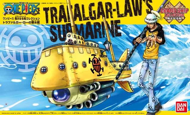 Grand Ship Collection : Trafalgar-Law's Submarine