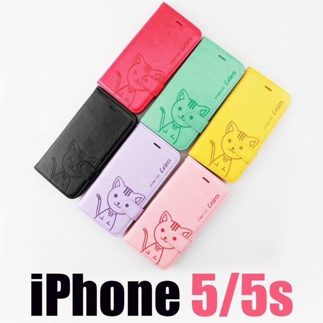 เคส iPhone 5/5s Domi Cat