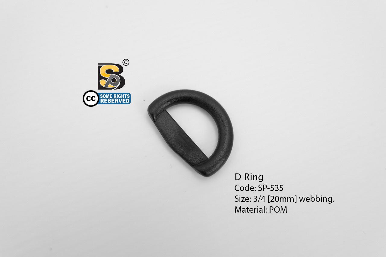 ห่วงตัวดี 6 หุน (แข็ง)/ D-Ring 3/4