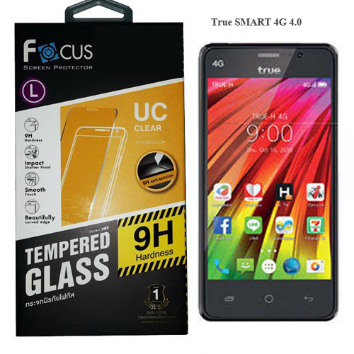 """โฟกัส ฟิล์มกระจก True Smart 4G 4.0"""""""