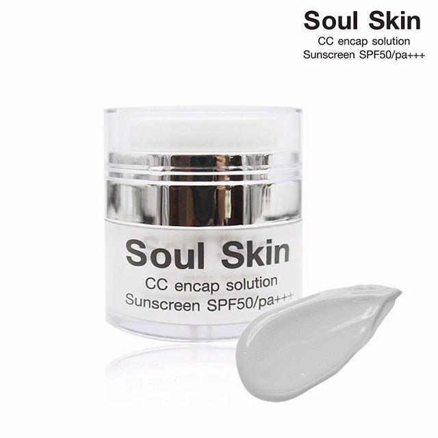 Soul Skin CC encap 9 ing 1 solution sunscreen SPF50/pa+++