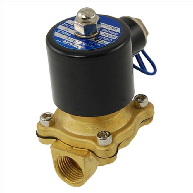 โซลินอยวาล์วสองทาง (Water Air Oil Solenoid Valve)